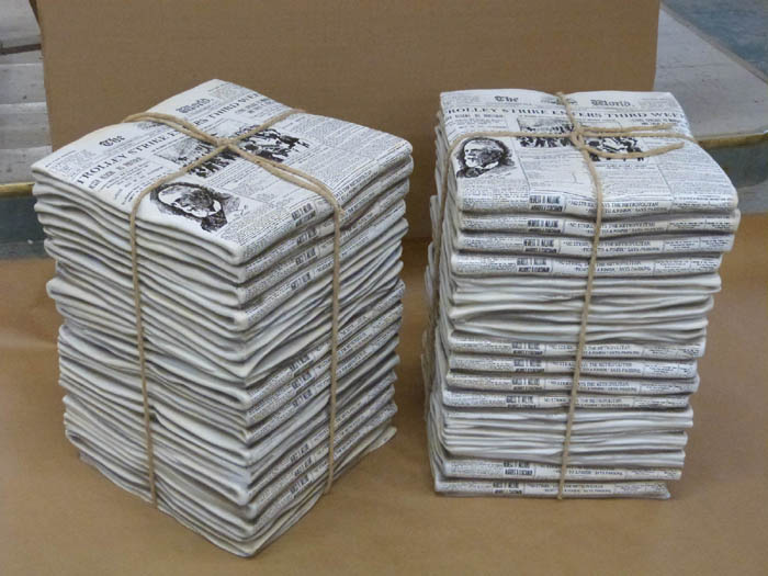 Newsies Fake Newspaper Stacks